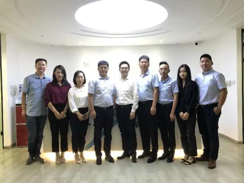 朱帅、靳志斌、张燕霞、窦渊律师拜访上海市凌云永然律师事务所