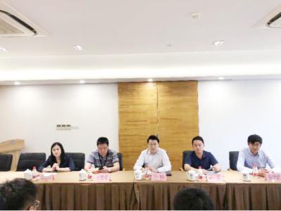 朱帅、靳志斌、张燕霞、窦渊一行四人拜访上海市恒业律师事务所